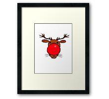 Rudolph the Red Nosed Reindeer Framed Print