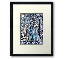 Rory and Nienna Framed Print