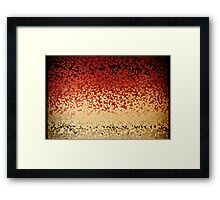 Comforted. Matthew 5:4. Christian Modern Art Framed Print