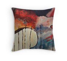 Yoke 01 Abstract Throw Pillow