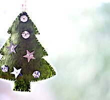 the christmas tree... by Gregoria  Gregoriou Crowe