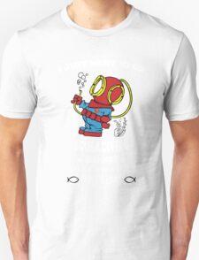 Superman Scuba Diving Unisex T-Shirt