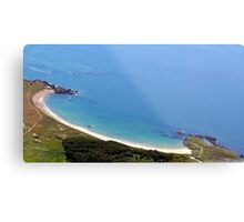 Silver Bay Beach Anglesey Metal Print