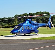 Bell 430 at Manchester UK by John Maxwell