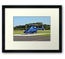 Bell 430 at Manchester UK Framed Print