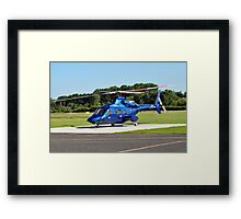 Bell 430 at Manchester UK Framed Print