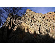 Eldorado Canyon Shadows Photographic Print