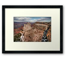 Grand Canyon Rock Formation Framed Print