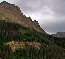 Nokhu Crags Colorado by Michael Kirsh