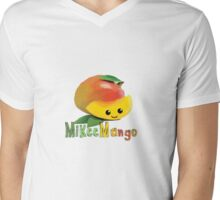Mikee Mango Mens V-Neck T-Shirt