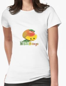 Mikee Mango Womens Fitted T-Shirt