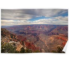 Grand Canyon Evening Sky Poster