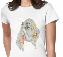 The Mirror Pond Womens Fitted T-Shirt