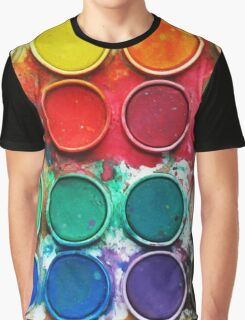Paintbox Color Palette Graphic T-Shirt