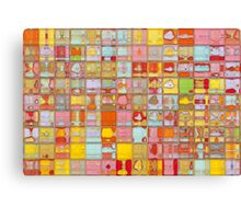 Modern Tile Art #3, 2012 Canvas Print