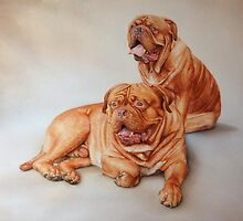 Hector and Lottie. by Rob Mitchell
