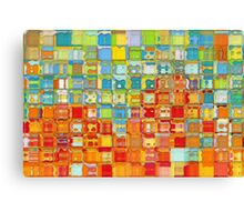 Modern Tile Art #4, 2012 Canvas Print