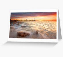 Brighton Beach, take 2  Greeting Card
