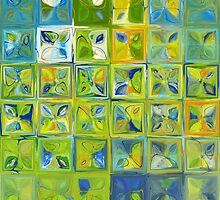 Modern Tile Art #5a, 2012 by Mark Lawrence