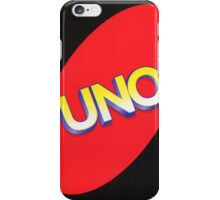 Uno Out! iPhone Case/Skin