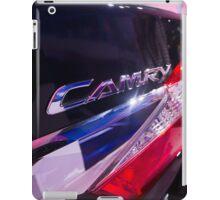 Toyota Camry Brand Logo [ Print & iPad / iPod / iPhone Case ] iPad Case/Skin