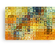 Modern Tile Art #6, 2012 Canvas Print