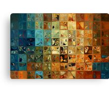 Modern Tile Art #11, 2009 Canvas Print