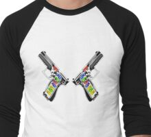 Gummies Blazin' Men's Baseball ¾ T-Shirt