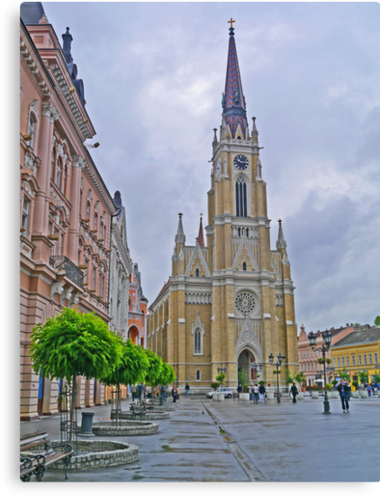 Name of Mary Church, Novi Sad, Serbia by Margaret  Hyde