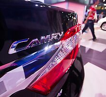 Toyota Camry Brand Logo [ Print & iPad / iPod / iPhone Case ] by Mauricio Santana