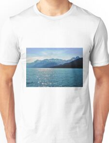 Mountain Views from Prince William Sound Unisex T-Shirt
