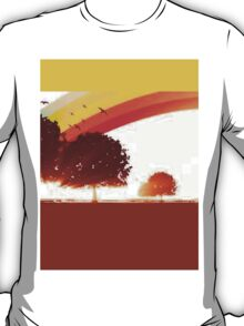 Retro tree T-Shirt