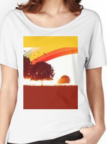 Retro tree Women's Relaxed Fit T-Shirt