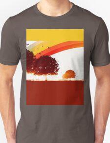 Retro tree Unisex T-Shirt