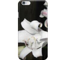 Vreugde is 'n wit lelie iPhone Case/Skin