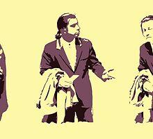 Vincent Vega hmm by hansfrider