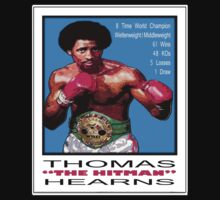 """BOXING LEGENDS: THOMAS """"THE HITMAN"""" HEARNS by SOL  SKETCHES™"""