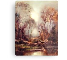 Woodland Dawn Metal Print