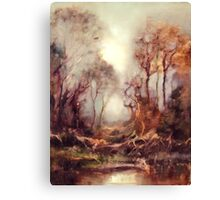 Woodland Dawn Canvas Print