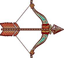 Sagittarius by Kerstin Schoene