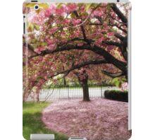 Under the Cherry Tree iPad Case/Skin