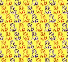 Cute dog puppies pattern for kids by aapshop