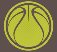 Basketball Graphic Design - Yellow by cpotter