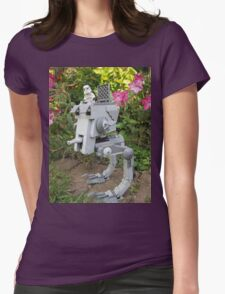 Dave Stormtrooper Just Patrolin Womens Fitted T-Shirt