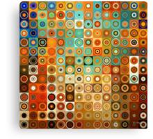 Circles and Squares 1. Modern Geometric Art Canvas Print