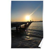 Fisherman's Sunset Poster
