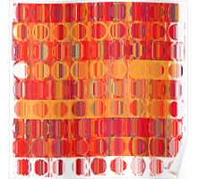 Circles and Squares 5. Modern Home Decor Poster