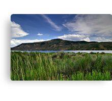 Blue Mesa Reservoir Canvas Print