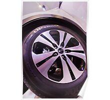 Kia Sportage Wheel  [ Print & iPad / iPod / iPhone Case ] Poster