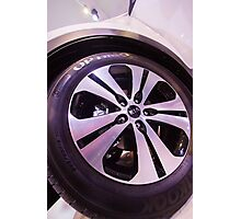 Kia Sportage Wheel  [ Print & iPad / iPod / iPhone Case ] Photographic Print